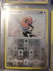 Reverse Holo Dartiri Pokemon NEU