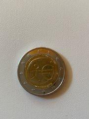 2x 2 Münzen Fehlprägung