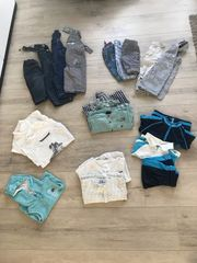 19 teil Kleiderpaket Gr 56-80