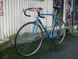 Bild 4 - Straßenrennrad von MERCIER mit 10 - Braubach