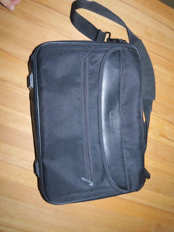 Laptoptasche schwarz gebraucht