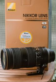 NIKON AF-S 70-200mm F2 8E