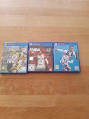 3 PS4 Spiele Fifa19 NBA2K