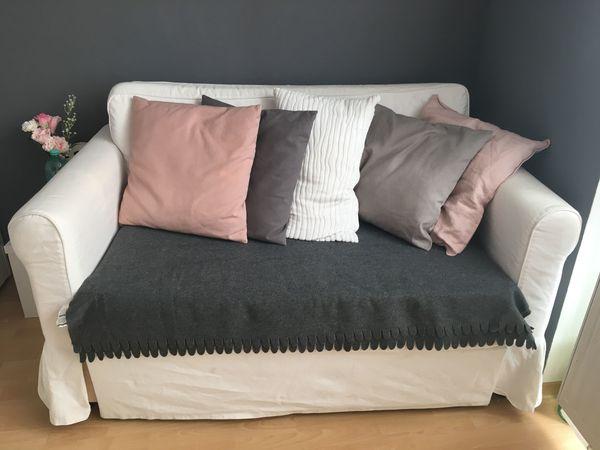 Weiße Ikea Couch Mit Bettfunktion In Bietigheim Bissingen Ikea