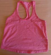 Muskelshirt Kurztop Gr 34 pink -
