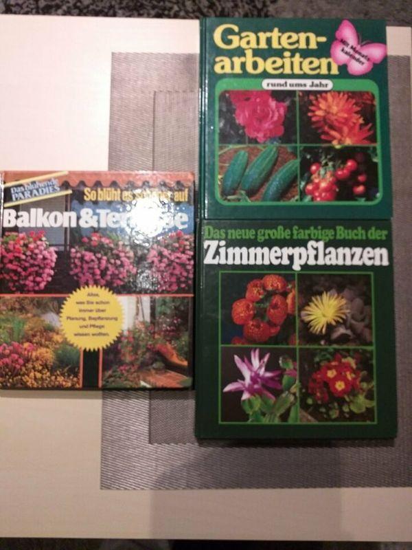3 Gartenbücher