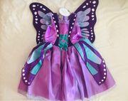 Schmetterling Butterfly Kinder Mädchen Kostüm