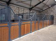 13 Pferdebox Cambridge Pferdestall Stall