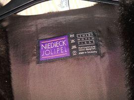 Damenbekleidung - tolle Webpelz - Weste Gr 42
