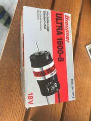 Verkaufe Ultra 1600-8 Graupner HochleistungsElektro