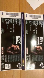 2 Tickets für Ozzy Osbourne