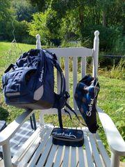 Satch-Schulrucksack mit Sportbeutel Federmäppchen