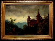Schloss Maschlins Graubünden Schweiz uralt