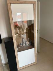 Moderne Wohnwand Segmüller bestehend aus