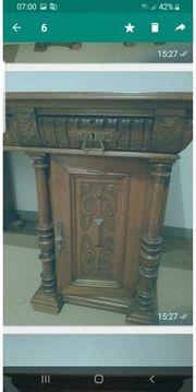 Antiquität Holztisch