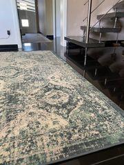 Vonsbäk Retro Teppich grün