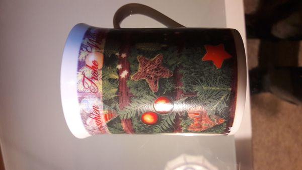Weihnachten Weihnachts Kaffeetasse kostenloser Versand