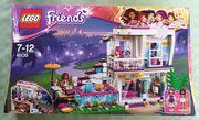 Lego Friends Popstars Villa NEU