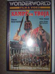 VHS Videos Kampf um Troja