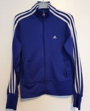 Adidas Jacke Damen blau Gr