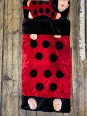 Kinderschlafsack Marienkäfer Kuschelstoff