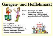 Garagen- und Hofflohmarkt am Sonntag