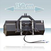 Heckschaufel hydraulisch kippbar 150cm komplett