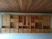 Wohnzimmer Kiefer massiv Schrank Tisch