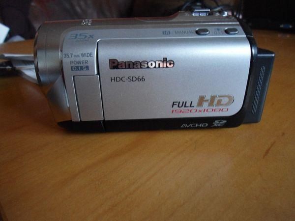 PANASONIC CAMCORDER HDC-SD66 FULL HD