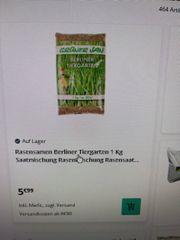 Rasen Samen Rasensamen Tiergarten 1kg