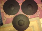 3x Alesis Strike Dual-Zone Cymbal