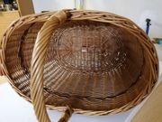 Weidekorb Picknickkorb Einkaufskorb und Wäschekorb