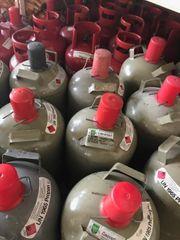 Gasflaschen die abgelaufen sind werden