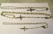 3 Stück Rosenkranz Gebets Ketten