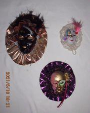 Venezianische Masken Konvolut 6