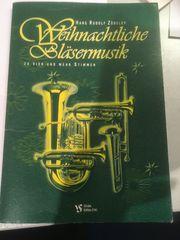 Notenheft Weihnachtliche Bläsermusik v Hans
