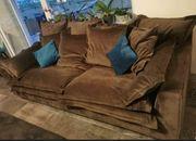 Scarlett big sofa Anthrazit