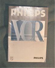 PHILIPS Videorecorder VR-247 orig BEDIENUNGS-Anleitung