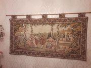 Großer französischer Gobelin Wandteppich