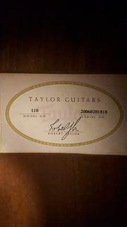 Gitarre Taylor Modell 110