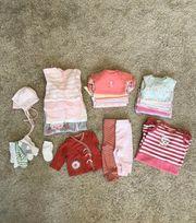 Kleidungspaket Baby Mädchen Gr 56
