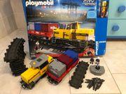 Gebrauchte funktionstüchtige Playmobil Eisenbahn Set