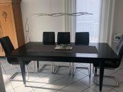 Schreinertisch schwarz 200 x 100