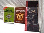4 Kataloge Orden Ehrenzeichen von