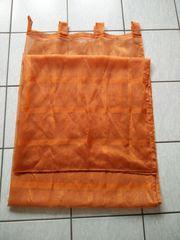 Schlaufenvorhang 2 Stück orange