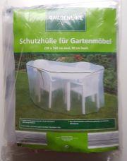 Schutzhülle für Gartenmöbel Terrassenmöbel oval