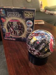 Monsterhigh leuchtender Puzzleball