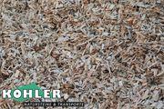 Holzhackschnitzel - als Fallschutz zertifiziert