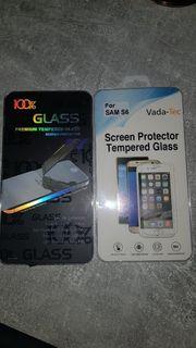 2x Panzerglasfolie für Samsung Galaxy