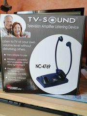 Wireless infrarot TV-Kopfhörer